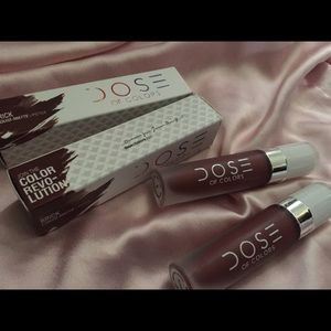 Dose of Colors Liquid Matte Lipstick Brick